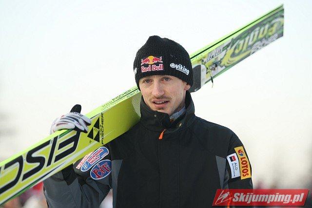 Adam Małysz - fot. Tadeusz Mieczyński
