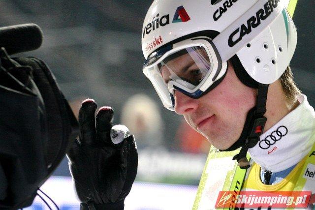 Simon Ammann - fot. Vicktoria Murawska
