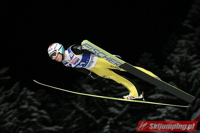 Simon Ammann - fot. Tadeusz Mieczyński